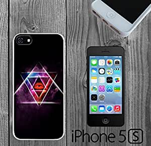 All Seeing Lips Triangles Custom made Case/Cover/skin FOR iPhone 5/5s
