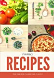 Family Recipes: Tan, Blank Cookbook, Recipe Binder, Cooking Journal, Recipe Notebook (Elite Recipe Book)
