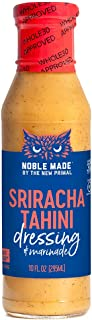 product image for The New Primal Noble Made Sriracha Tahini Dressing & Marinade, Whole30 & Paleo Approved, Gluten, Dairy & Soy Free, 10 Fl Oz