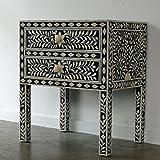 Product review for Bone Inlay 2 Drawer Dresser Black Butler Handmade Bone Inlay Furniture