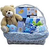 Bundle of Joy Deluxe Baby Boy Gift Basket | New Baby...