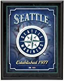 "Seattle Mariners Team Logo Sublimated 10.5"" x 13"" Plaque - Fanatics Authentic Certified - MLB Team Plaques and Collages"