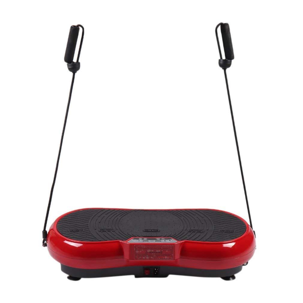 KinshopS Profi Vibrationsgerät Fitness Vibrationsplatte Ganzkörper Trainingsgerät mit LCD Display & Fernbedienung