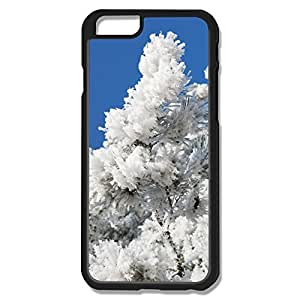 PTCY IPhone 6 Custom Funny Snowy Tree Branch Blue Sky