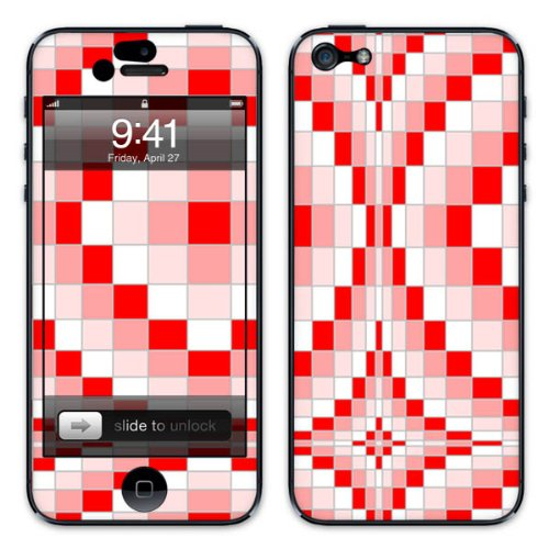 Diabloskinz B0081-0047-0002 Vinyl Skin für Apple iPhone 5/5S Ripple