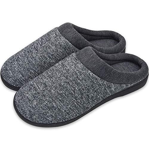 Stynice Hausschuhe Herren Damen Herbst und Winter Wärme Memory Foam Pantoffeln House Schuhe rutschfest Slipper Drinnen
