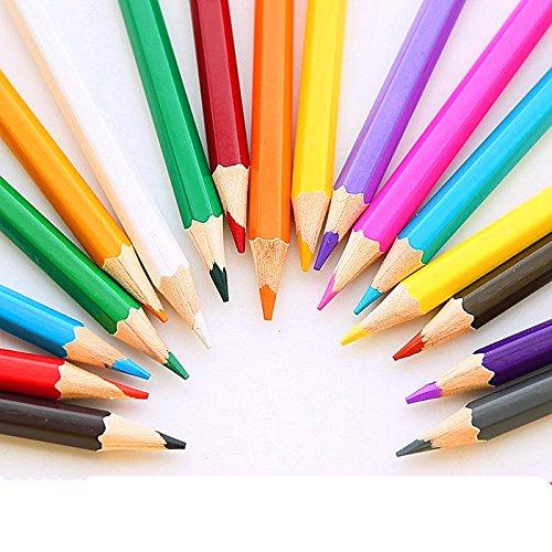 12 Color Art Colored Drawing Pencils For Kids Artist Sketch Adult Secret