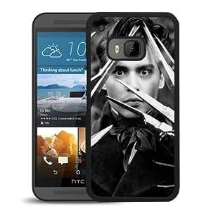 HTC ONE M9 Johnny Depp 1 Black Screen Cellphone Case Genuine and Retro Design
