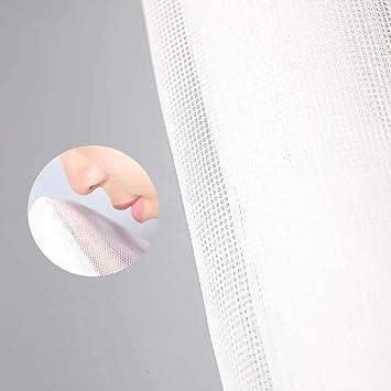Blanc Transparent INOBXR Moustiquaire Fen/être Maille Moustiquaire pour Portes Et Fen/êtres en Fibre De Verre Rideau De Moustiquaire,White,60x40cm 24x16inch