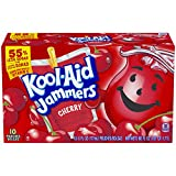 Kool-Aid Cherry Jammers, 10-Count, 6-Ounce Pouches (Pack of 4)