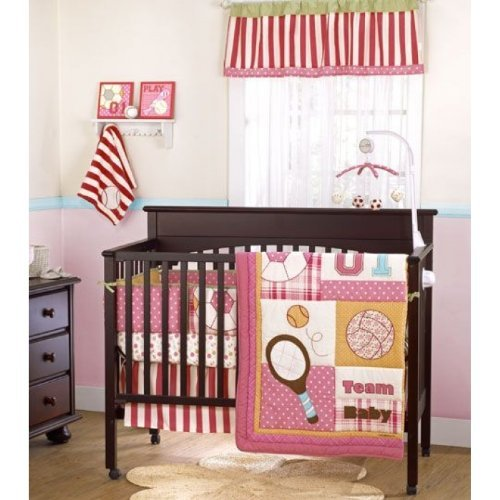 Cocalo Play Date Sports 4 Piece Baby Crib Bedding Set by Cocalo   B004LY4JOY