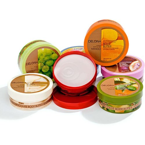 Delon Body Butter Skin Lotion Hydration (Set of - Delon Skin Cream
