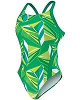 Nike Jagged Geo Modern Fast Back Tank Swimsuit - Women's