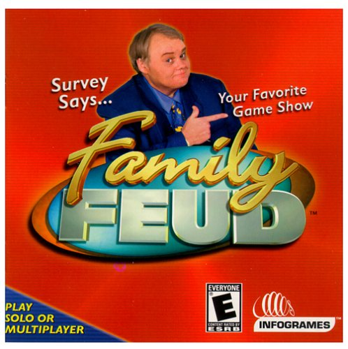 Family Feud (Jewel Case) - PC