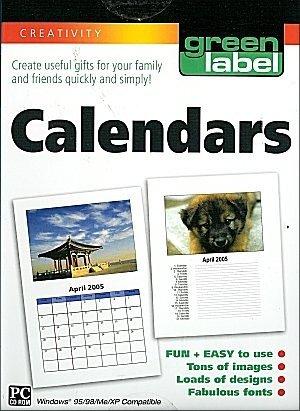Green Label Calendars - XP Compatible