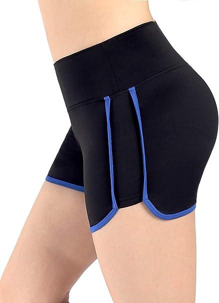 Neonysweets Womens Yoga Shorts Fitness Workout Short Pants