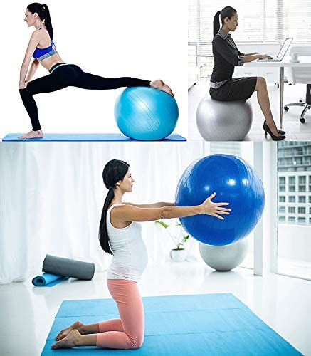 BalanceFrom Anti-Burst and Slip Resistant Exercise Ball Yoga Ball Fitness Ball Birthing Ball with Quick Pump, 2,000-Pound Capacity 2