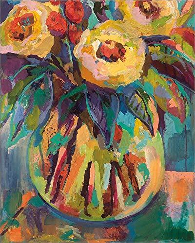Round Vase by Jeanette Vertentes Laminated Art Print, 16 x 20 -