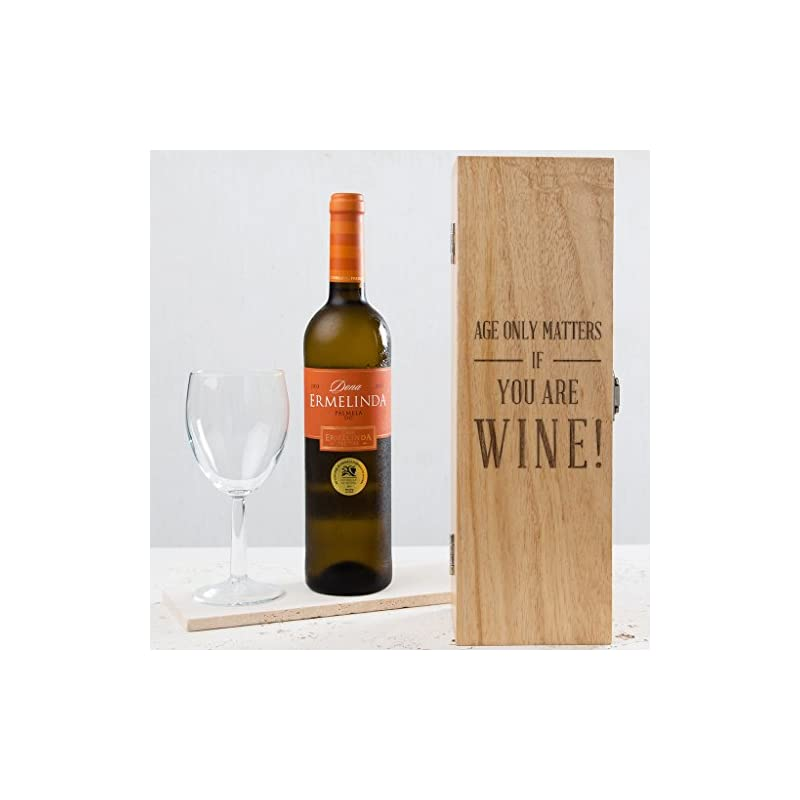 Engraved-Wooden-Wine-Box-Funny-Birthday-Gift-for-Men-and-Women-Age-ONLY-Matters-IF-You-are-Wine-Wine-Bottle-NOT-Included