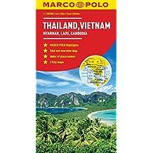 Thailand, Vietnam, Laos, & Cambodia Marco Polo Map