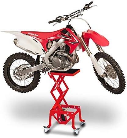 ConStands Freeride 350 Moto-Cross XL mit Rollen Hydraulik Hebeb/ühne Rot f/ür KTM 950 Super Enduro//R