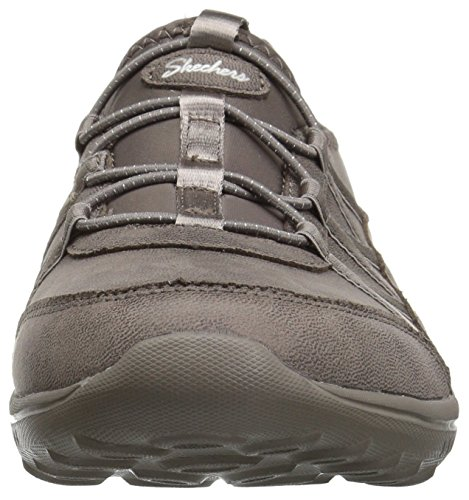 Topo sin Zapatillas Do para Light Well Cordones Skechers To Oscuro Be Mujer Gris xgn4PqqH