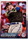 2015 Topps Update #US226 Josh Donaldson Baseball Card in Protective Display Case