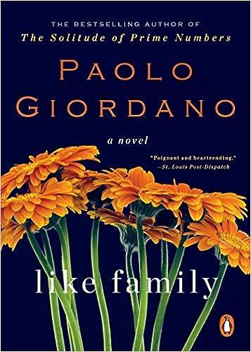 Like Family A Novel Amazon Fr Paolo Giordano Anne Milano