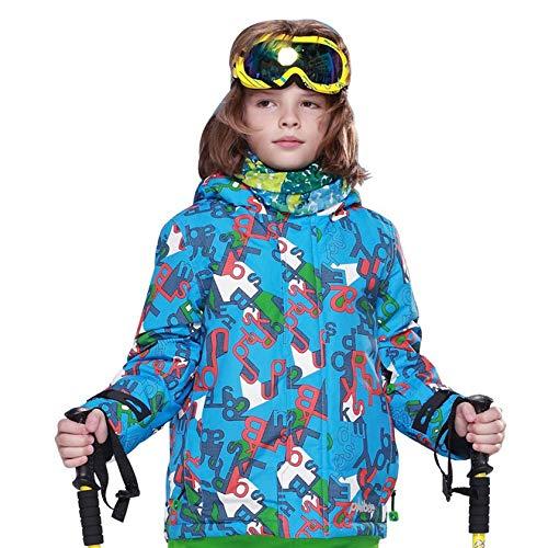 colorful 134 140 Moorecastla New Boy Ski Coat Jacket Snow Winter Kids Size Outdoor Windproof Hiking Warm