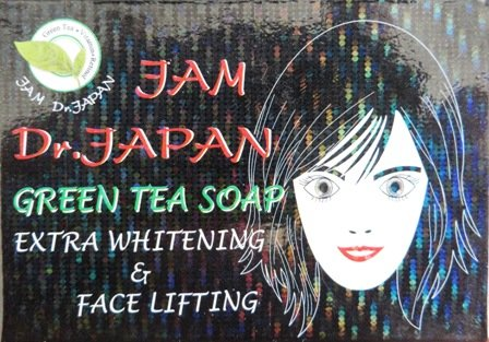 Green Tea Soap  Extra Whitening & Face Lifting, Net Wt.70g,