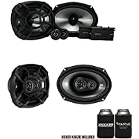 Kicker for Ram Crew Cab Truck 2012 & Up 43CSS694 6x9s, 43CSC6934 6x9 Speaker Bundle