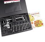 kitchenaid mixer processor - Inspiralized Paperback and Kitchenaid Spiral Slicer Attachment & Multifunctional Fruit Processor,6 blades(perfect Set)
