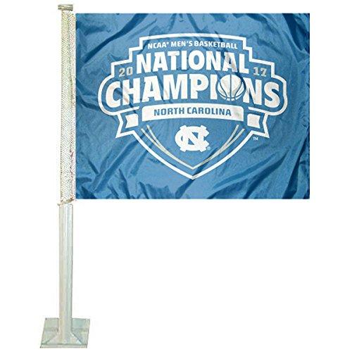 National Champions Car Flag - North Carolina Tar Heels National Basketball Champions Car Flag
