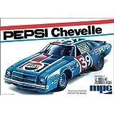 MPC Pepsi 1975 Chevy Chevelle Stock Car 1/25 Scale Plastic Model Kit