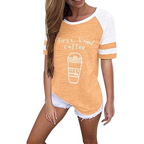 Orange3 Shirt155 SANFASHION Bekleidung Damen Ballerine SANFASHION Donna tYwZxY