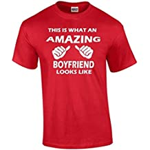 i-Custom World This is What An Amazing Boyfriend Looks Like T-Shirt Best Gift Shirt