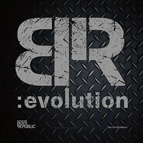 CD : Boys Republic - Br:evolution (3rd Ep) (Extended Play, Asia - Import)