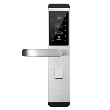 WEN Cerradura de Puerta Digital Fingerprint/Password / Key/Card Lock Cerraduras de Puerta