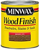Minwax 700494444 Wood Finish Interior Penetrating Stain, Quart, Honey