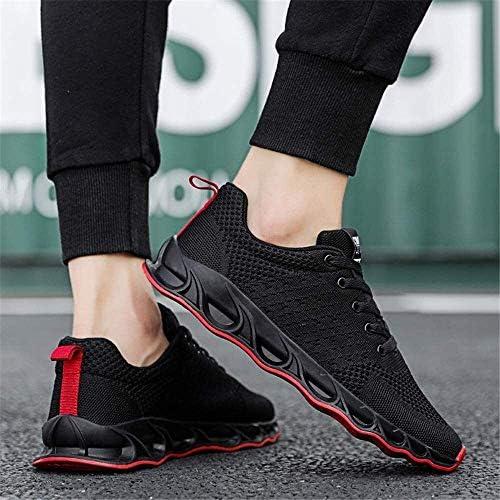 メンズスポーツシューズ、ランニングシューズをクッションメッシュアッパー通気性スニーカーシューズ (Size : 43EU)