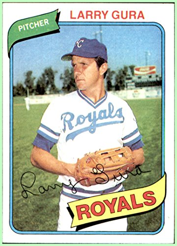 - 1980 Topps #295 Larry Gura KANSAS CITY ROYALS NRMT
