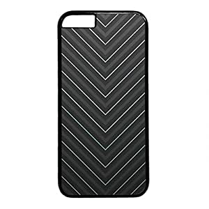 Diy IPhone 6 Cover Diy 0088297_black and white stripes case for iphone 6 pc material black Case for iPhone 6