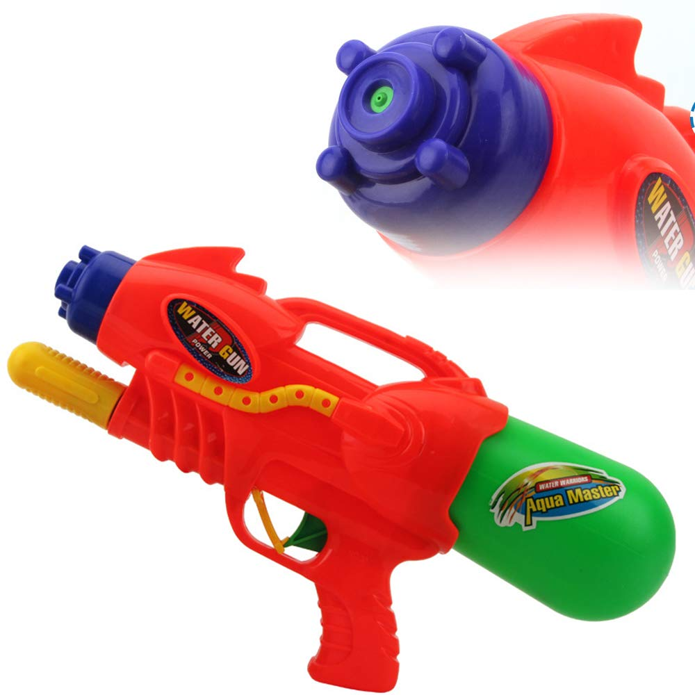 MUQG Beach Water Gun Large Capacity Toy Water Pistol Kid Long Range Squirt Water Guns Fashion Design Party Outdoor Water Fun Activity