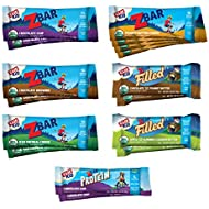 Clif Kid ZBAR, ZBAR Filled, ZBAR Protein & ZFruit - Organic Granola Bars - Variety Pack (16 Count) (Assortment/Flavors May Vary)