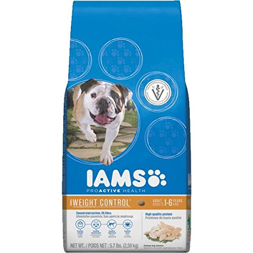 Iams Proactive Health Adult Weight Control Dry Dog Food 7-lb Bag