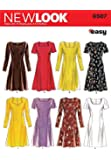 New Look Sewing Pattern 6567 - Misses Dresses Sizes: A (6,8,10,12,14,16) by New Look