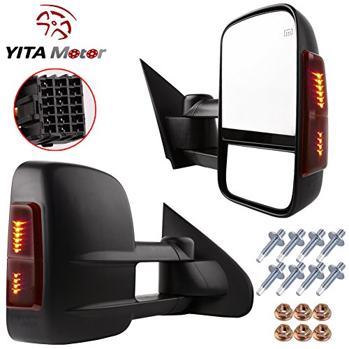 YITAMOTOR Towing Mirrors Silverado Sierra