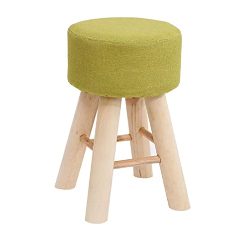 Phenomenal Amazon Com Childrens Wooden Stool Round Design Non Slip Pdpeps Interior Chair Design Pdpepsorg