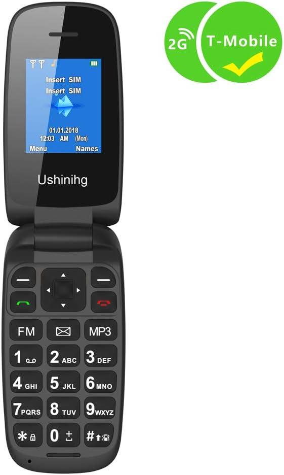 Amazon.com: Ushining - Teléfono móvil con tapa para personas ...