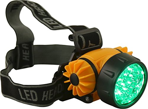 Intensity Headlamp - Apollo Horticulture 17 Watt LED High Intensity Green Light Headlamp